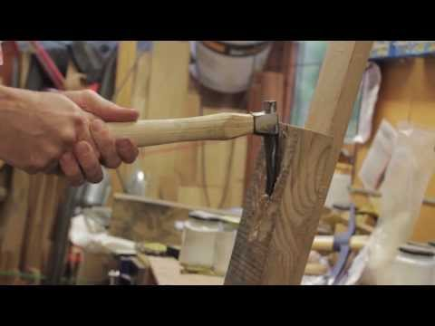 Turning an old Hammer into an Adze by Blacksmithing