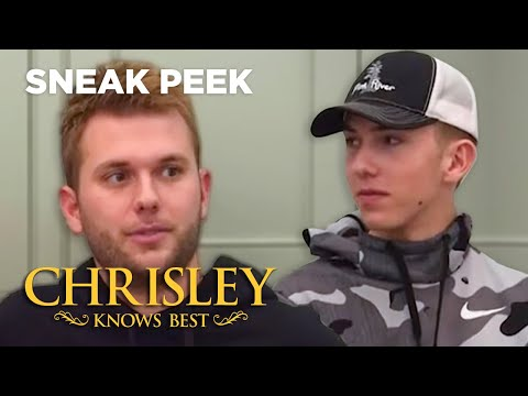 Chase Is Jealous of Grayson's Height | Chrisley Knows Best | USA Network