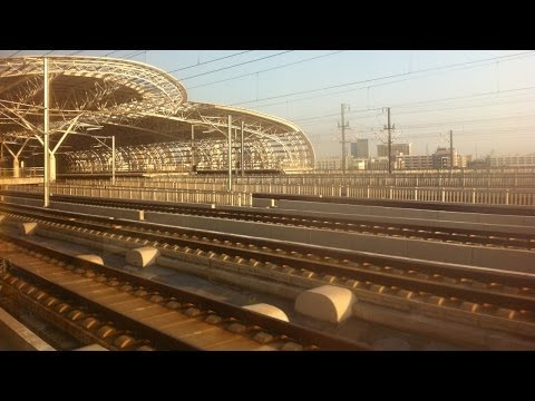 Riding on the Beijing - Shanghai High-Speed Railway 北京上海高速铁路