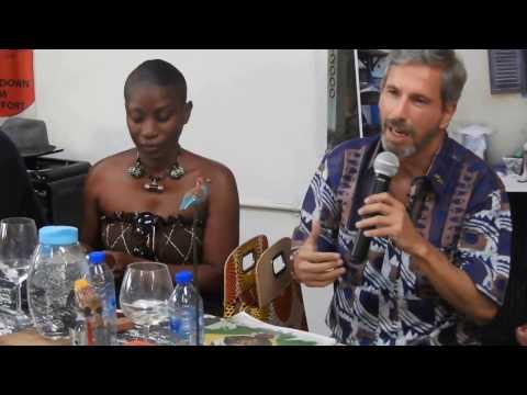 The Brazilian Ambassador donates books to ArchiAfrika