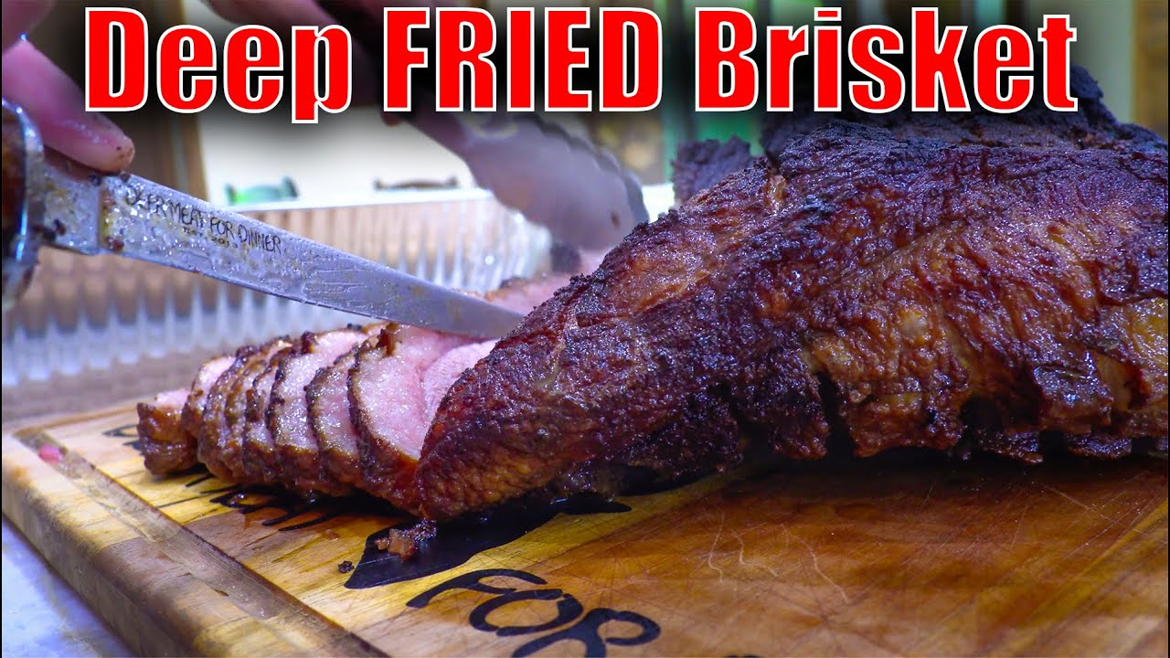 Deep Fried BRISKET!!!! {Tasty Tuesday} Better than Smoked!!!