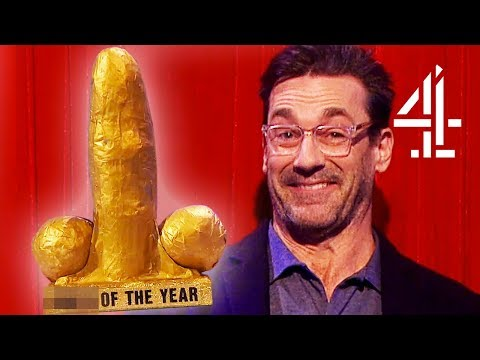 Jon Hamm Announces D**k Of The Year Nominees For 2017  The Last Leg