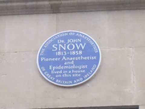 A tour of Soho looking at the work and legacy of John Snow.