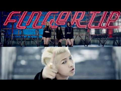 BTS/GFRIEND - Danger / Fingertip (MashUp)