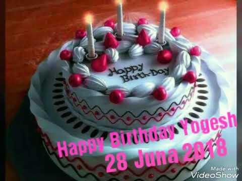 Happy Birthday Yogesh Dada Youtube