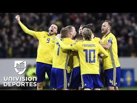 Suecia 1-0 Italia | Los suecos dan el primer golpe rumbo a Rusia 2018
