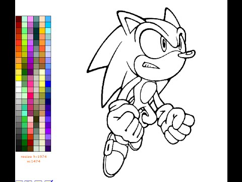 sonic the hedgehog coloring pages for kids sonic the hedgehog coloring pages games - Coloring Books Games