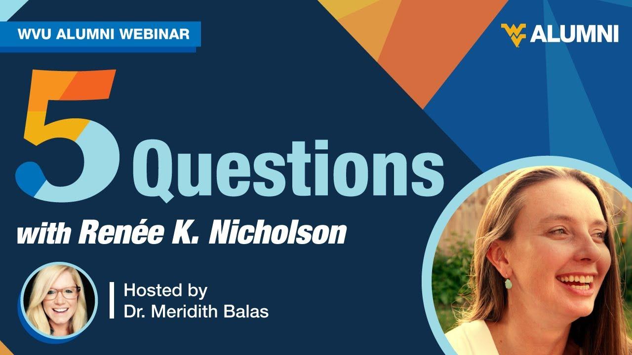 Image for Five Questions with Renée K. Nicholson webinar
