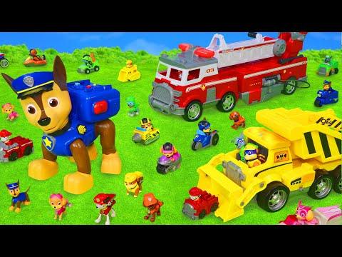 Paw Patrol oyuncak HAVA DEVRİYESİ, itfaiyeci (itfaiye köpeği) Marshall, Chase, Skye