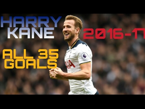 Download HARRY KANE | ALL 35 GOALS 2016/17 | HE'S THE ONE