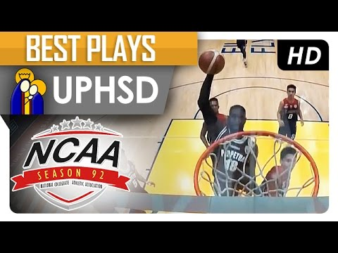 Bright Akhuetie for the fast break slamdunk! | UPHSD | Best Plays | NCAA 92 - 2016
