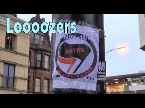 Joke/Fake Flyer for Antifa Nov 4 Grant Park Chicago Wrigleyville - Brian Doraba Blues Slide Guitar