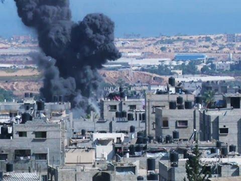 Israeli Offensive Escalates in Gaza Attack