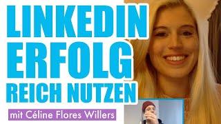 👍 So solltest du Linkedin nutzen -  Interview mit Céline Flores Willers | #FragDenDan