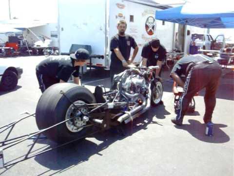 Top Fuel Tony Ruggeiro 60 Degree Top Fuel Harley
