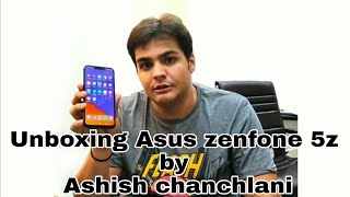 ashish chanchlani unboxing Asus zenfone 5z with full on comedy in mawali style😂😂😂😂