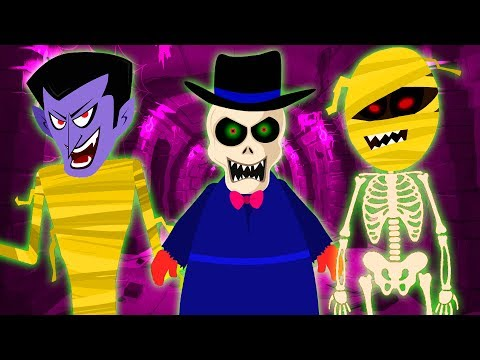 Wrong Face Wrong Heads Skeleton Finger Family Song Funny Skeletons Scary Nursery Rhymes Teehee Town
