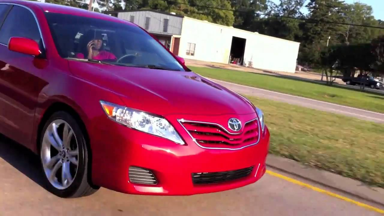 Camry On 19 Quot S Wheels Youtube