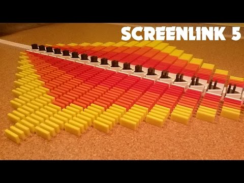 Domino Screenlink 5 - Colorful Patterns, Incredible Tricks, Flying Clothespins and More!