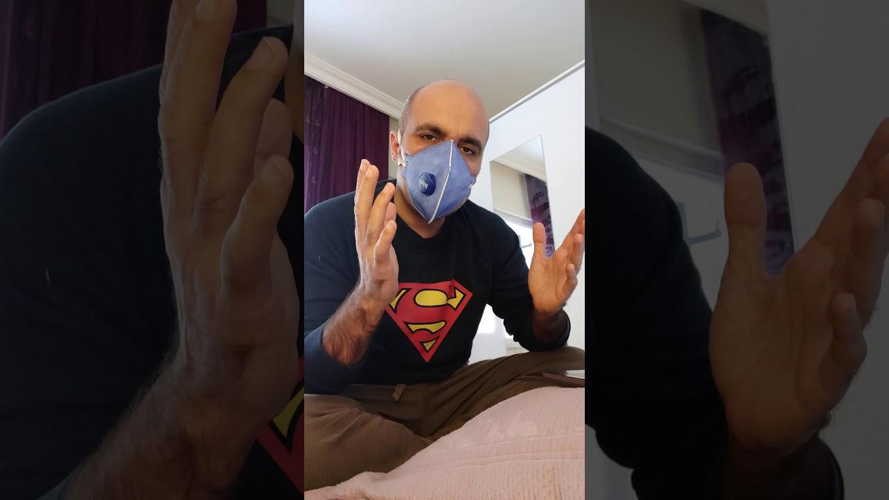Drager N95 FFP3 Alman Virüs Koruyucu Maske!!Corona Virüsü Koruyucu (N95 FFP3 Mask)