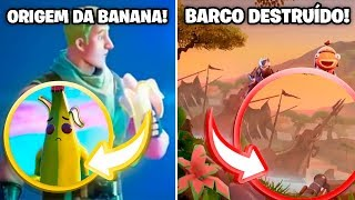 HOW the SKIN OF BANANA and WRECKED BOAT CAME up! -Fortnite, the