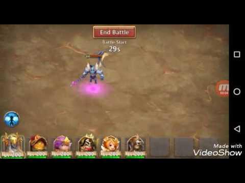 Castle Clash Archdemon / F2p Strategy 980M+ / NO Medusa
