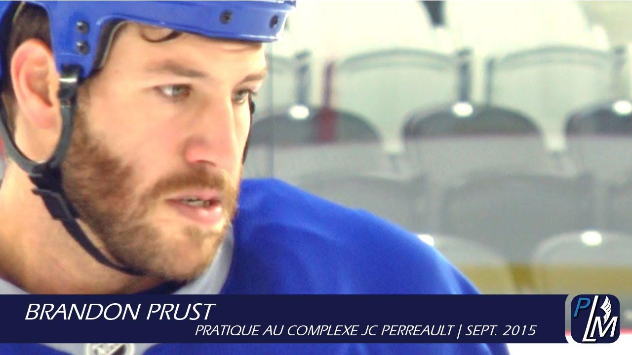 Meuble Tv Jc Perreault : Brandon Prust Pratique Au Complexe Jc Perreaultsept 2015 – Youtube