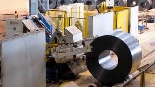 Itipack - Full Otomatik Çelik Çemberleme Makinesi - Çelik Bobin Çemberleme