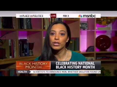 Angela Rye Discusses Black History Month w/ MSNBC