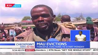 Nakuru leaders call for humane eviction of Mau residents, forceful evictions to start on Monday