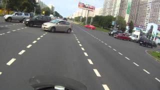 Смотреть видео ДТП Дмитровское шоссе, г.Москва 6.08.2013 онлайн