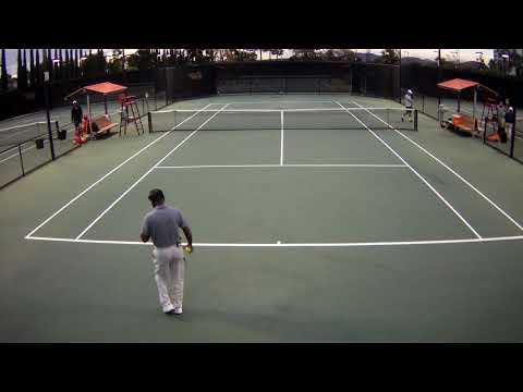 Gutierrez Singles San Diego Match 1 Part 1 Spring Break