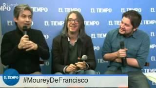 Martín de Francisco y Santiago Moure, en Hangout en EL TIEMPO
