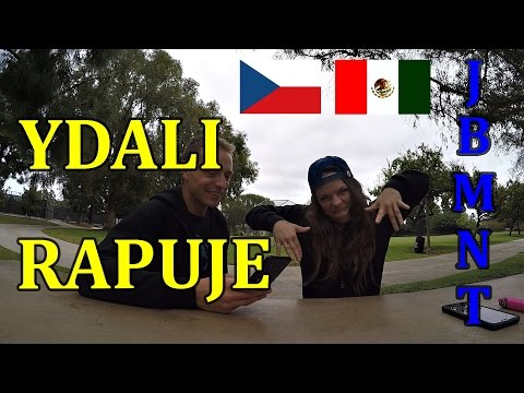 MEXIČANKA REAGUJE na CZ|SK RAP! Rytmus,Spirit, Kali,Marpo ...!