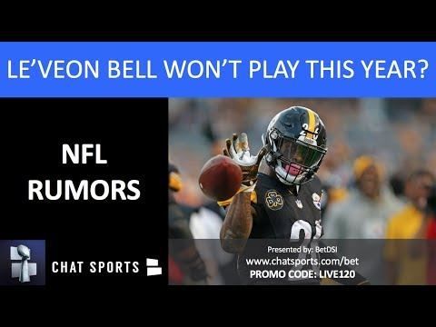 NFL Rumors: Le'Veon Bell Won't Play This Year, Marcus Davenport Injury & Obi Melifonwu To Chiefs thumbnail