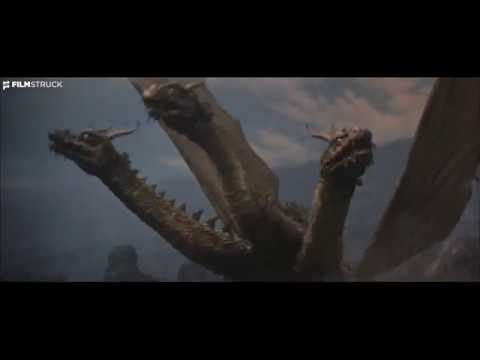 GHIDORAH, THE THREE HEADED MONSTER, Ishiro Honda, 1964 - Godzilla, Rodan & Mothra Battle Ghidorah