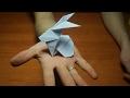 Как сделать зайчика из оригами