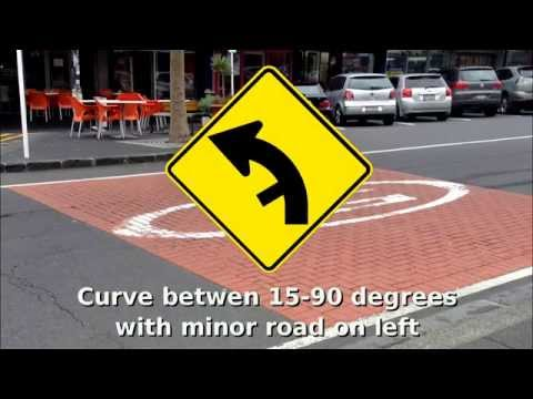 New Zealand Road Signs 2