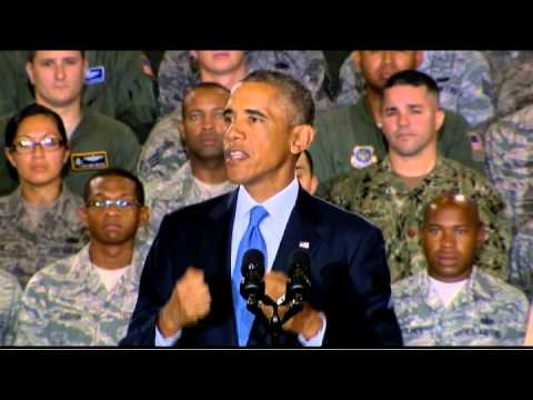 President Obama: When world has crisis, world calls on us