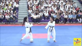 Màn đá vòng 360 của nữ vận động viên Taekwondo Nguyễn Thị Lệ Kim - Đại học Tôn Đức Thắng