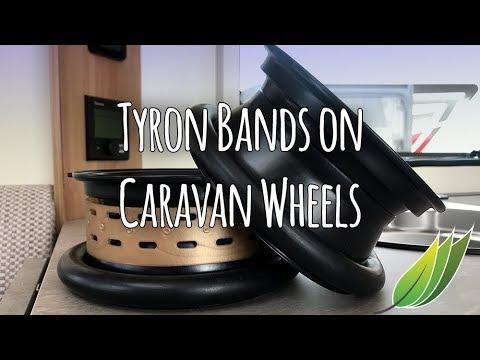 Tyron Bands for caravan tyres