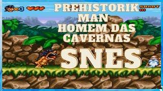 Prehistorik Man - Homem das Cavernas