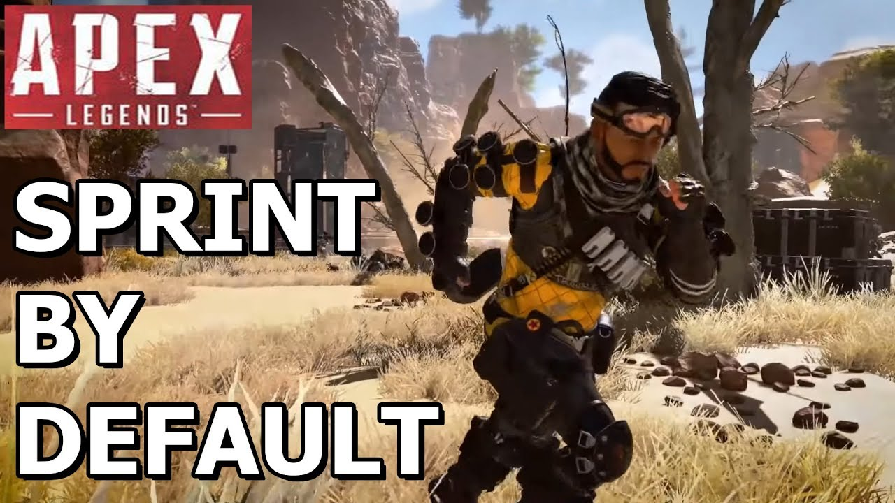 Apex TIP: How to enable Sprint by Default! (PC)