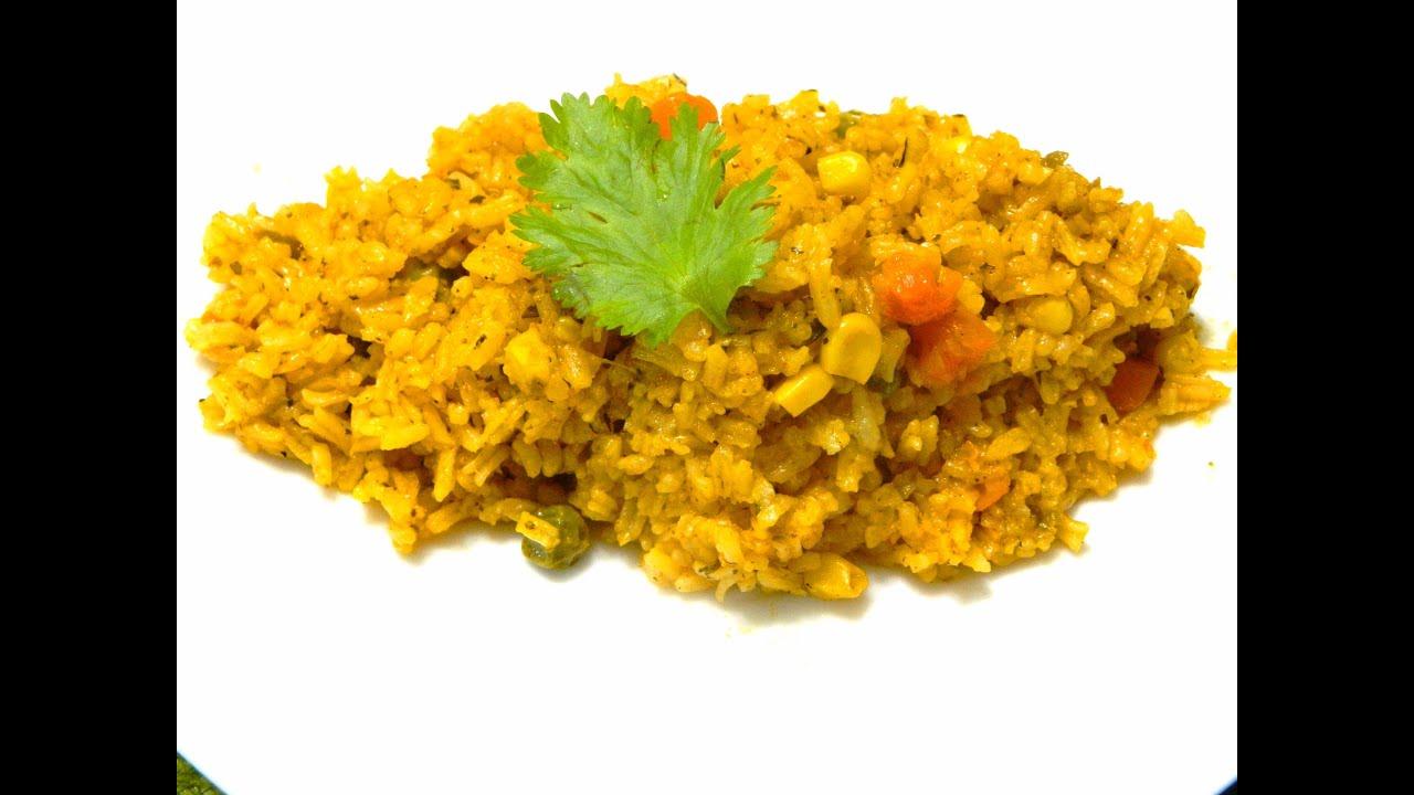 Arroz guisado con vegetales rice with vegetables youtube - Arroz con verduras y costillas ...