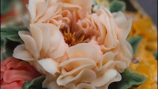 Cách bắt hoa Peony Nở - How to pie Peony Flower?