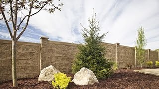Download How to Install a RhinoRock concrete fence - YouTube Mp3 and Videos