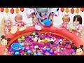 スーパーボールすくい ディズニー メルちゃん ぽぽちゃん お祭り / Disney  Bouncy Ball Scooping Mell-chan Doll