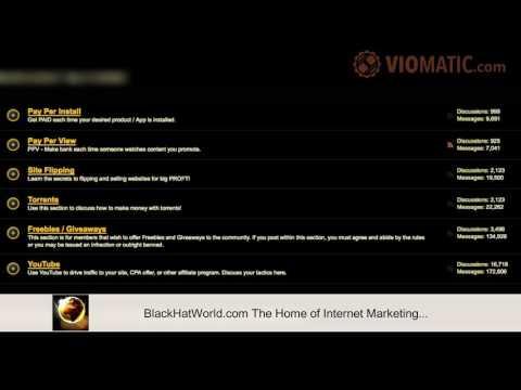 BlackHatWorld.com The Home of Internet Marketing (Black Hat World)