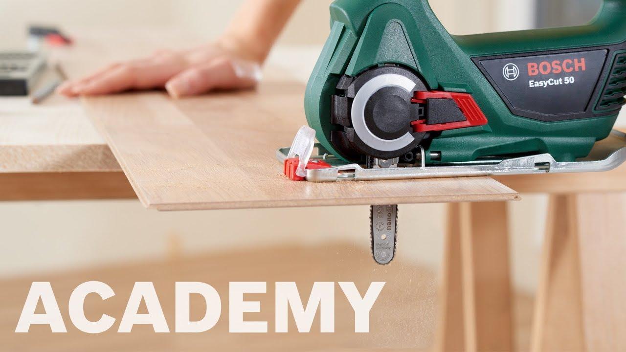 bosch academy: bosch nanoblade-savene easycut 12, easycut 50