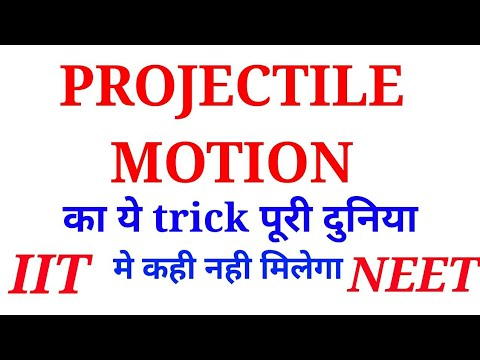 Projectile motion for jee and neet in hindi